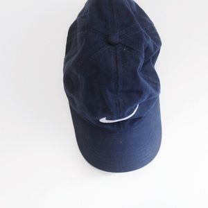 Nike Navy Blue Cotton Cap